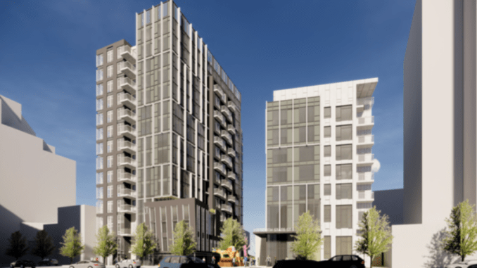 Affordable Housing To Reach A New Level At 255 S State Street In Downtown Salt Lake City Building Salt Lake