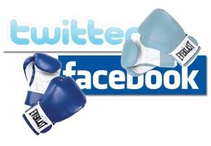 social media marketing facebook vs. twitter