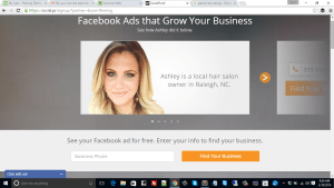 Facebook for local hair salons