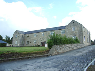 The remains of Longford workhouse