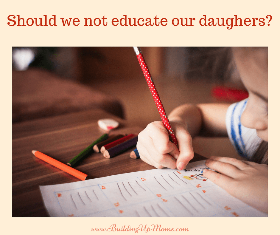 Did we waste our education when we decided to stay home with our children?