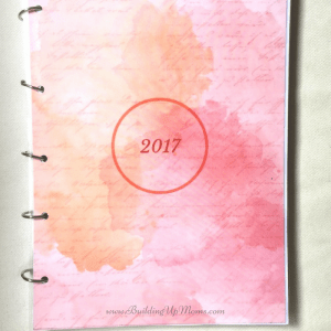 Planner season is here again. Making my own DIY Planner.