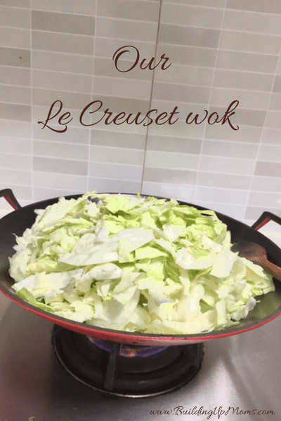 An expensive but worthwhile kitchen equipment is the Le Creuset wok.