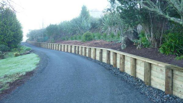 Landscape Building Whangarei Retaining Walls Fencing
