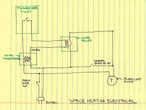 $2K Solar Space and Water: System Diagrams
