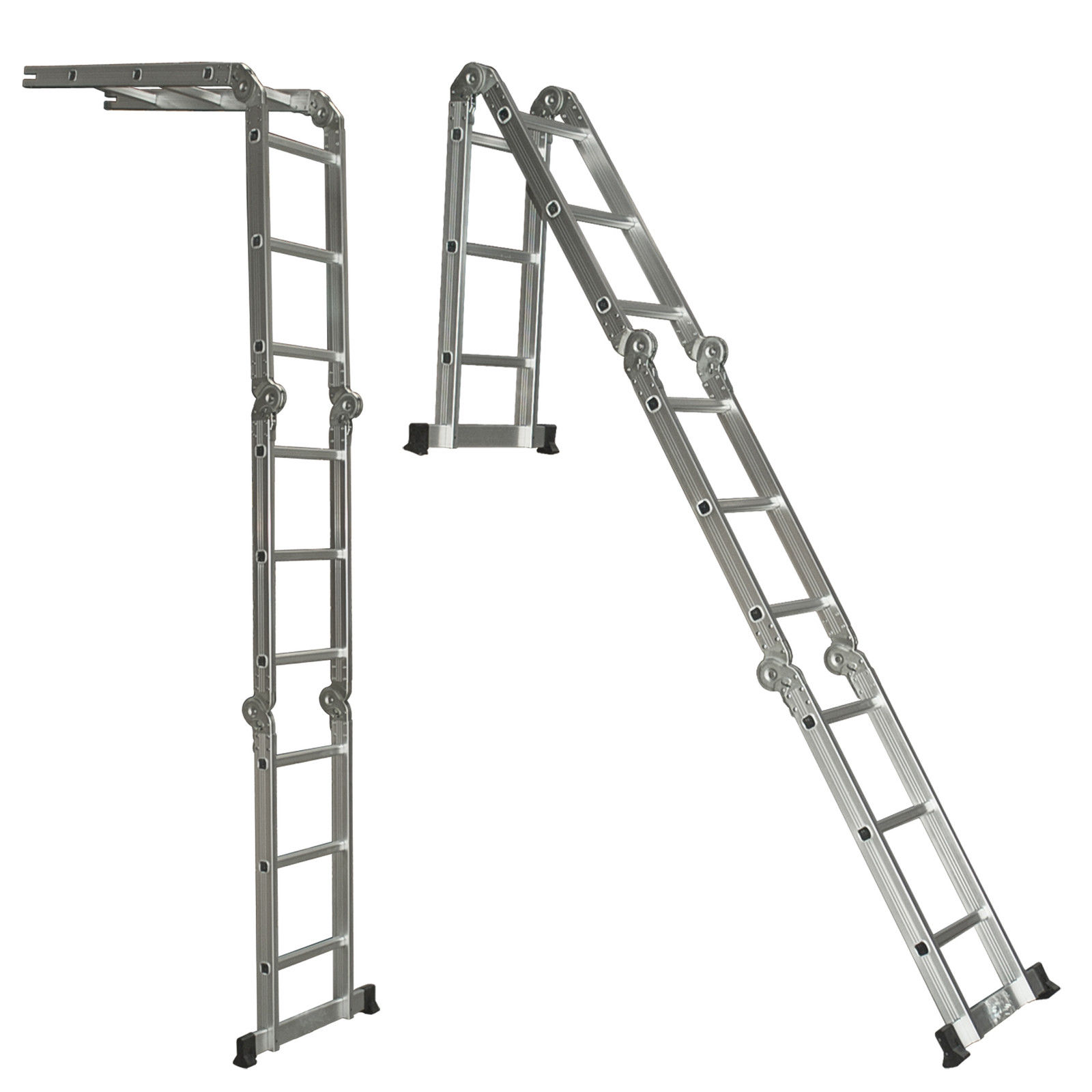 Ladder 12 Foot Multi Purpose Position Aluminum Folding