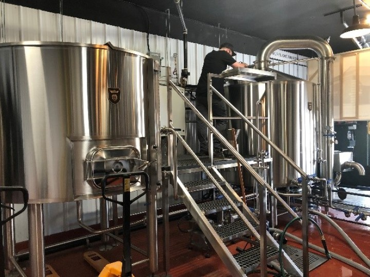 Installing and commissioning a brewery