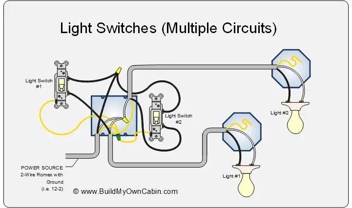 Wiring Multiple Lights Switches One Circuit | www.lightneasy.net