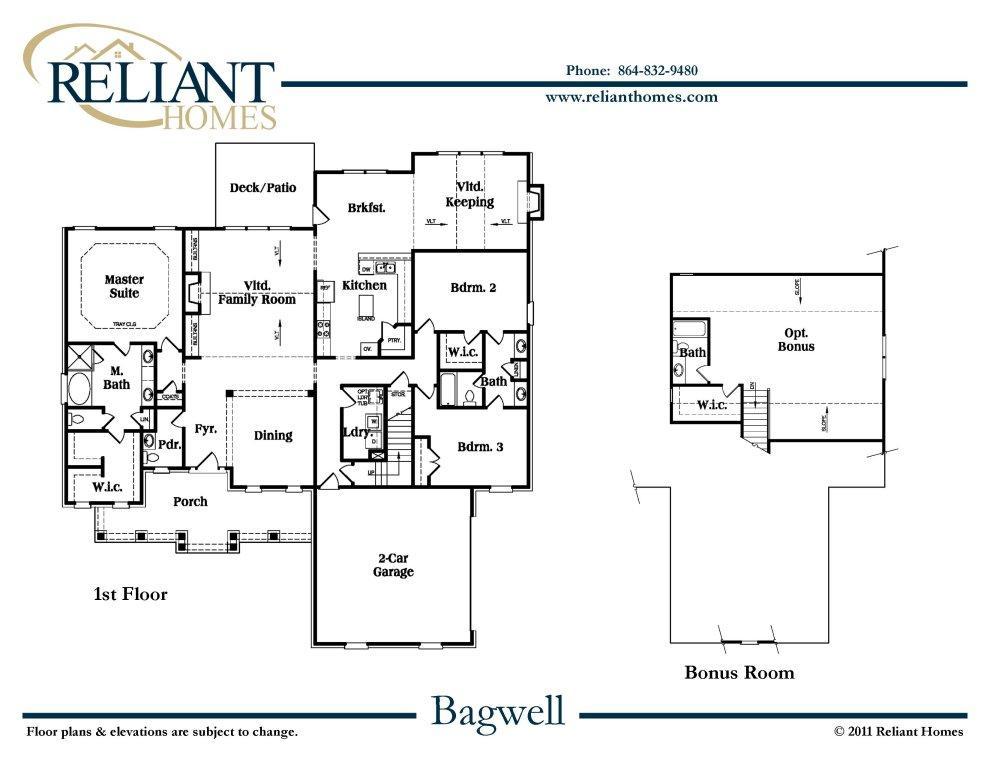 Woodside Homes Floor Plans