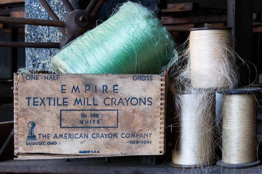 Lonaconing Silk Mill - The Crayon Box