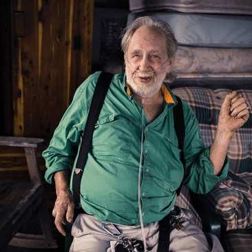 Man with Oxygen, Chatsworth, GA