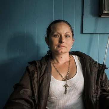 Woman at Mexican Restaurant, Nashville, TN