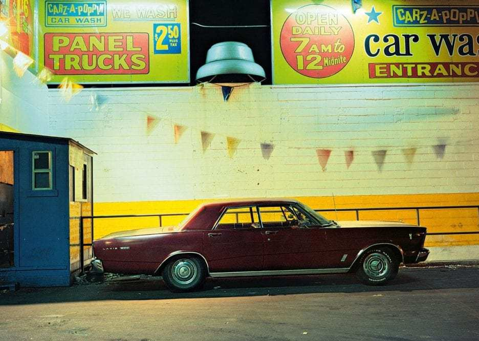 Carz-a-Poppin car, Ford Galaxie 500 (1966), Houston and Broadway, 1976