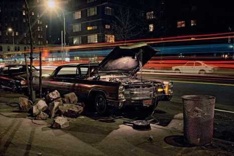 Hard Rock Caddy, Cadillac near 23rd Street and 8th Avenue, 1975 ©Langdon Clay