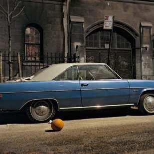 Subway Impala, Chevrolet Impala, 7th Avenue and 29th Street, 1975 ©Langdon Clay
