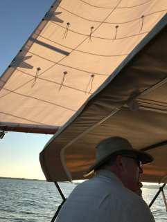 Afternoon sail with Captain Wendell - also our host! ©NancyMcCrary
