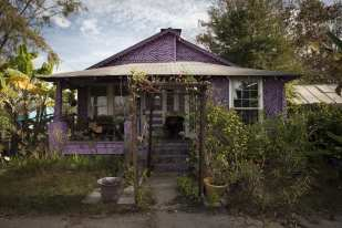 Purple House, Ludowici, GA ©Forest McMullin