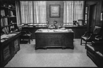 Granddaddy at his Desk, Rotan Switch, Arkansas My Grandfather had a tremendous impact on my life. He loved me unconditionally. Although he was a farmer and an important businessman in the state of Arkansas, he always made time for his grandchildren. He would stop to see me at boarding school on his way to board meetings in Milwaukee and Chicago. Grandaddy, along with President Clinton, when he was governor of the state, brought industry to the small towns providing jobs for people after the mechanization of agriculture. I loved his humble, unassuming attitude amidst his success.