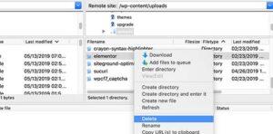 تنظيف ملفات ووردبريس الإضافية غير المستخدمة