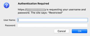 لدخول الصفحة سجل اسم المستخدم و كلمة السر