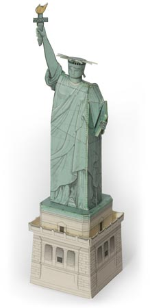 Build Your Own New York Statue Of Liberty