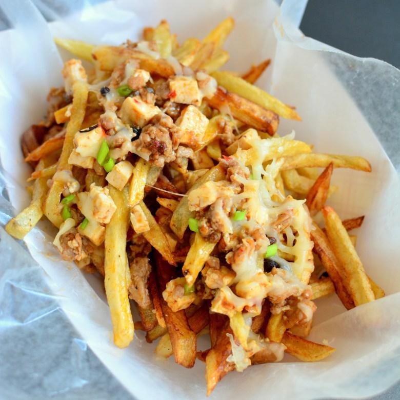 Top Engine 2 Recipes Chili Cheeze Fries: Mapo Tofu Cheese Fries