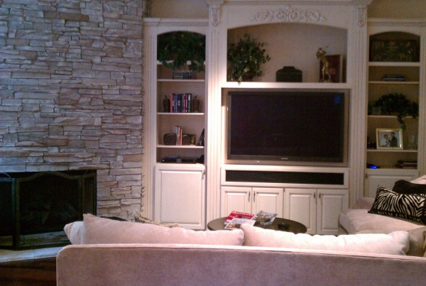 Indianapolis Custom Home Builders - Living Room