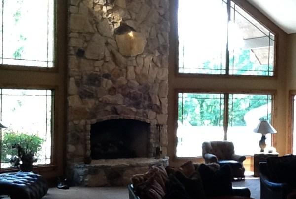 Indianapolis Custom Home Builders - Great Room Interior Design