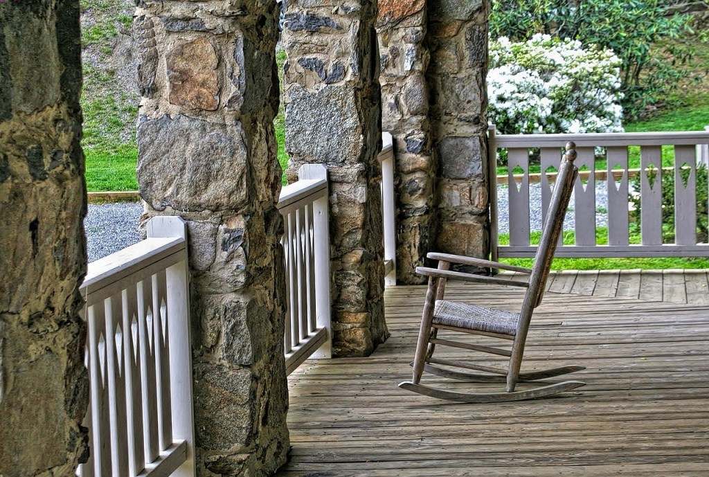 Check out these great custom home porch ideas!