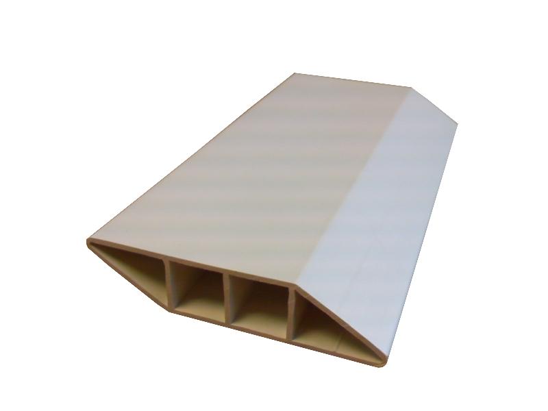 Ets Buisson Buisson Pvc Pvc Profiles Portail Cloture Lisse Barreaudage Vba01 70x16x1 2mm Blanc Casse A