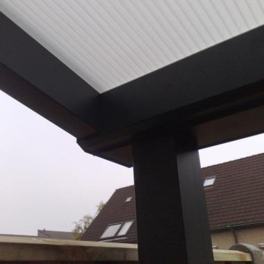 Een veranda aluminium is iedere dag zomer