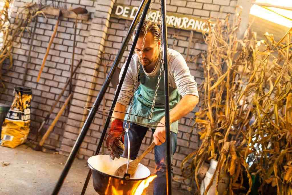 mannen uitjes kookworkshop