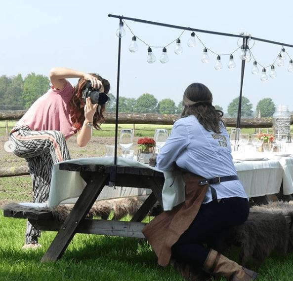 Fotoshoot Femke van Houts en BuitenEten