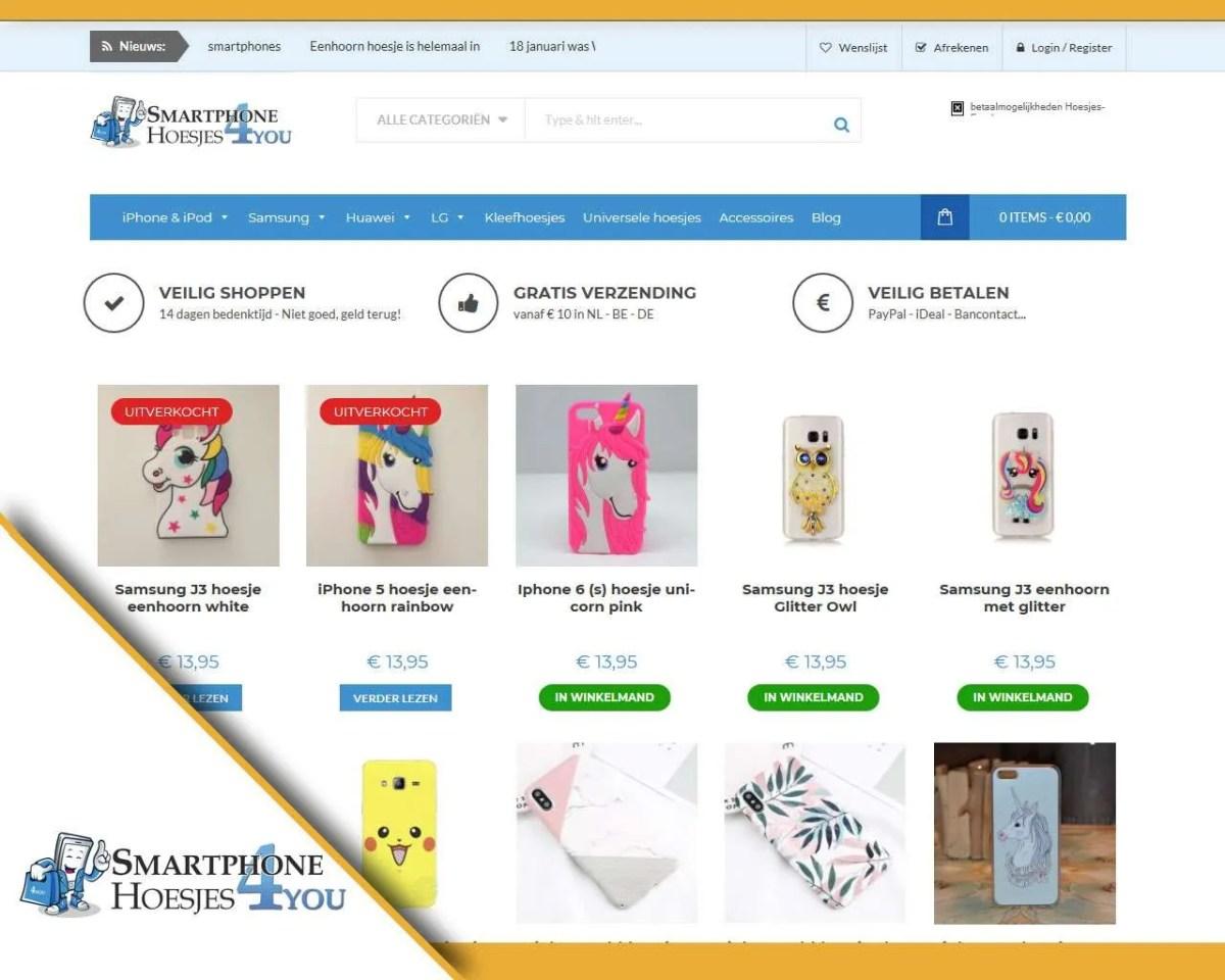 Webshop Smartphonehoesjes4u.be - Buitengewoon Communicatie Averbode