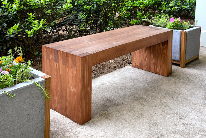How Build 2x4 Garden Bench