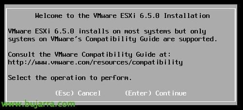 Actualizar a ESXi 6.5 y checklist pre-upgrade