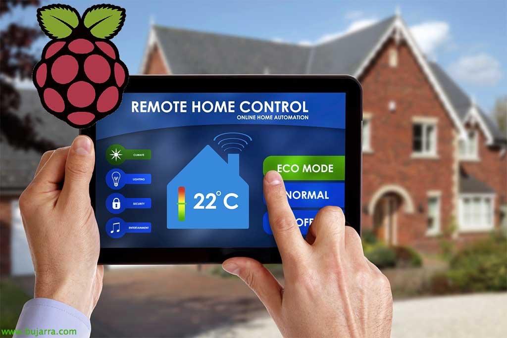 Raspberry Pi – Uso de relé, X10 y detector de movimiento