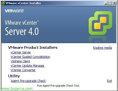 Usando VMware Agent Pre-upgrade Check