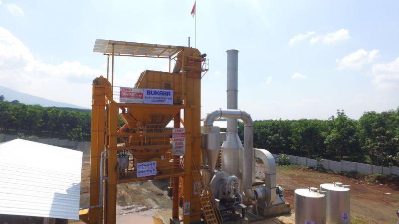 Instalasi /Pemasangan & Uji Coba Asphalt Mixing Plant (BAMP| 1000B-FA), lokasi daerah Semarang