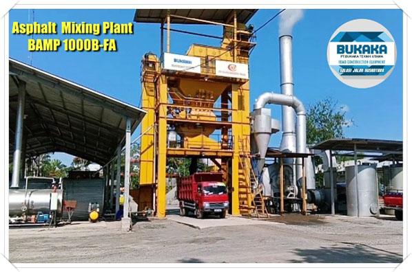 Pemasangan& Uji coba Bukaka Asphalt mixing Plant (BAMP 10000B-FA) Lokasi Customer daerah Prabumulih, Palembang.