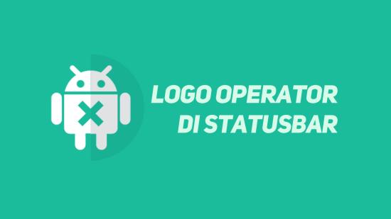 Cara Ganti Nama Operator dengan Logo Operator di Statusbar Xiaomi
