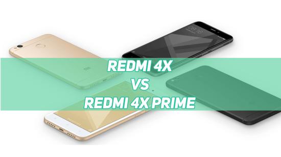 Xiaomi Redmi 4X 2GB vs Redmi 4X 3GB vs Redmi 4X 4GB