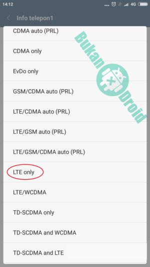 Cara Merubah Jaringan 3G Menjadi 4G LTE Semua Tipe Android