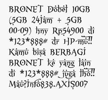 Kumpulan Font MIUI Xiaomi Support Unicode Mtz