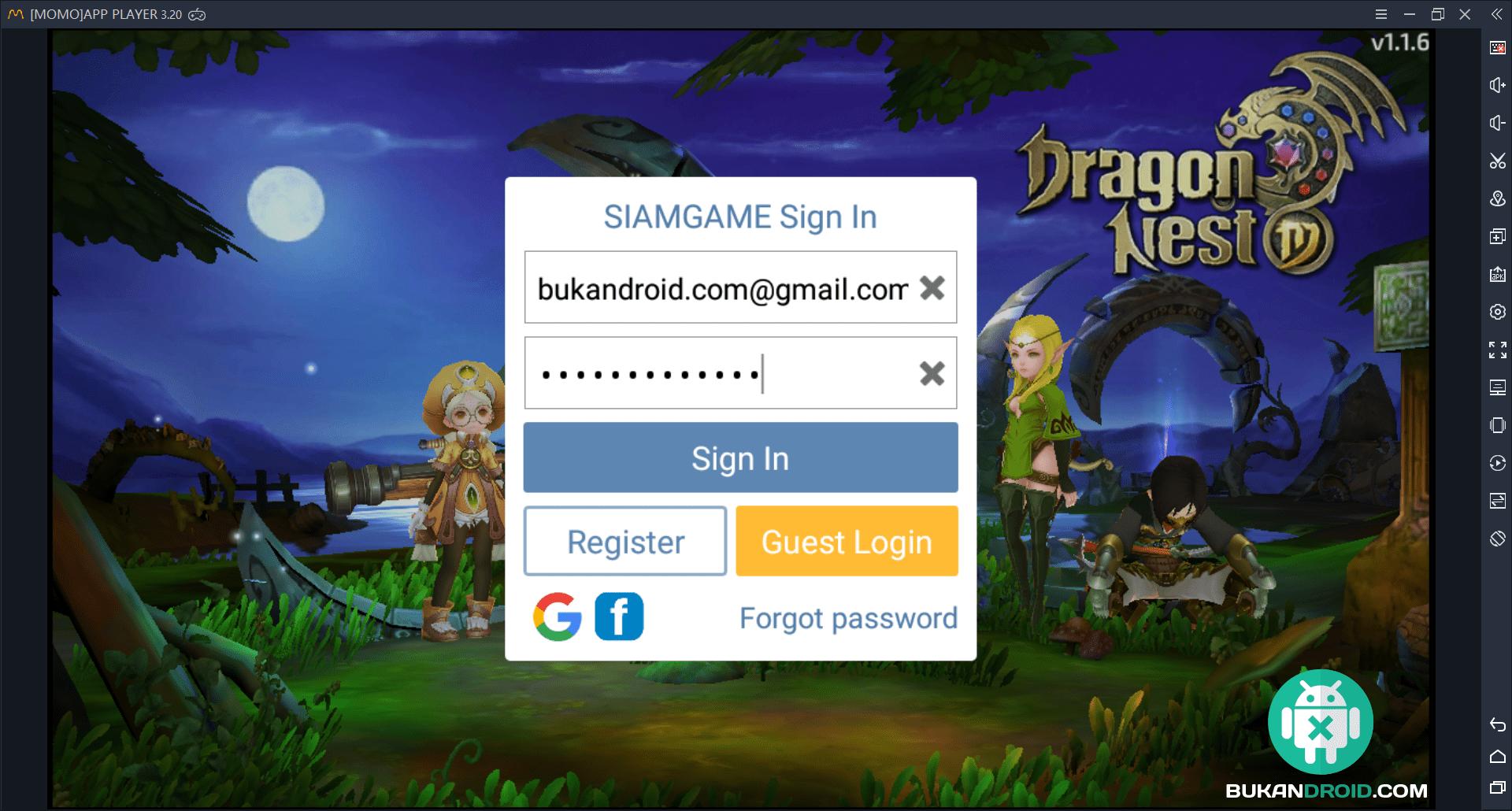 Cara Bermain Game Dragon Nest M Mobile di PC