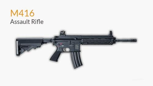 Senjata M416 PUBG