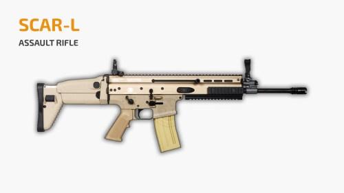 Senjata SCAR-L PUBG