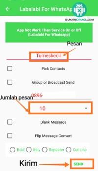 Bom Pesan Whatsapp !! Begini Cara Nya - Bukandroid com