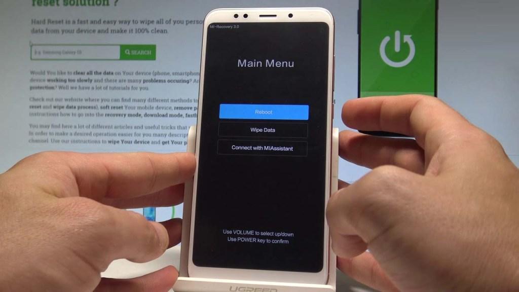 Cara Factory Reset HP Xiaomi Semua Tipe