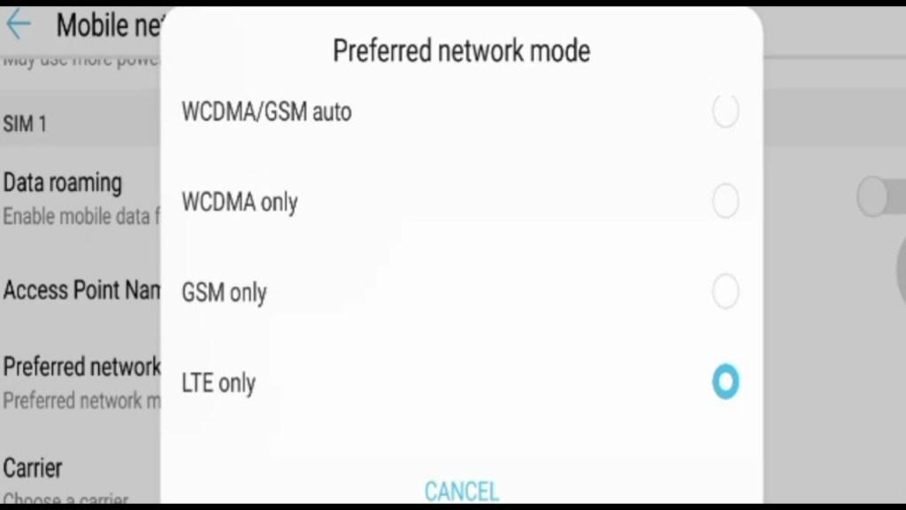 Cara Lock Jaringan 4G Huawei
